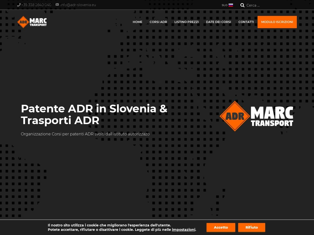 wordpress spletna stran adr slovenia